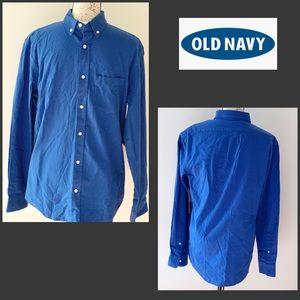 NWT Old Navy Men's Blue shirt
